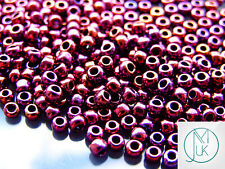 250g 503 Higher Metallic Dark Amethyst Toho Seed Beads 6/0 4mm WHOLESALE