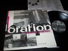 """Funeral Oration """"Believer"""" LP with insert Hopeless Records – HR616-2 Usa 1997"""