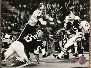 Jethro Pugh Signed Dallas Cowboys 8x10 Photo Mounted Memories