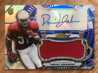 David Johnson SP #/150 AUTO Autograph 2015 Topps Finest Rookie RC Jersey Relic