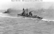 World War 1 HMS Agincourt & HMS Erin Royal Navy 7x5 Inch Reprint Photo R