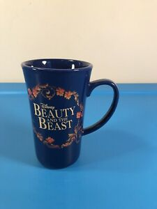 Disney Beauty And The Beast Blue Broadway Musical Ceramic Mug