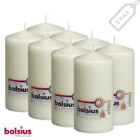 Events, Wedding Christmas Wine Red Pillar Candles 2x4 ince Set Of 8 For Party