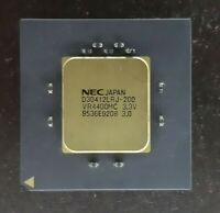 1X NEC JAPAN D30412LRJ 200 VINTAGE CERAMIC CPU FOR GOLD SCRAP RECOVERY VERY RA