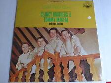 Clancy Brothers & Tommy Makem – Irish Folk Airs LP, US