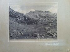 Edoardo di Sambuy photo original Alpe and the lake Burke beginning '900