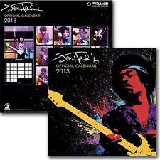 Jimi Hendrix - Official 2013 Calendar NEW