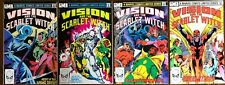 Vision & the Scarlet Witch #1-4 Complete SET   Very Fine   Marvel 1982-83