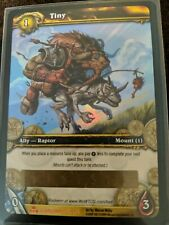 """WORLD OF WARCRAFT WOW TCG : """"TINY"""" Loot Card 50-Charge Mount - NEW UNSCRATCHED!"""