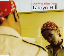 LAURYN HILL DOO WOP (THAT THING) 3 TRACK CD SINGLE FREE P&P