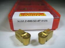 ! FACTORY PACK ! SANDVIK N151.2-600-50 T-MAX Q CUT CARBIDE INSERTS GROOVING TOOL