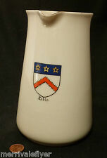 KEBLE COLLEGE Oxford University antique PITCHER W H Goss Crested China LARGE