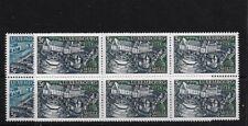 LUXEMBOURG SG844/5, 1969 TOURISM MNH BLOCKS OF SIX