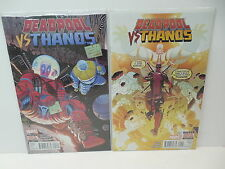 Deadpool Vs. Thanos Marvel Comic Books 1 2 Cosmic Powers Battle Seeley Bondoc