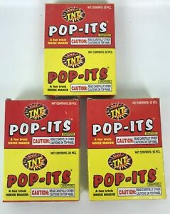 TNT Pop-Its Snappers NOISE Makers Lot 3 Packs