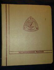 Instrument Society of America Binder