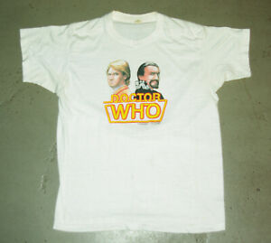 1983 BBC Doctor Who T shirt Authentic original single stitch Large
