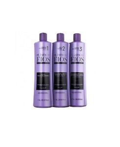 Lissage Brésilien Cadiveu Plástica dos Fios Soin Cheveux Kératine Formol | 3x50m