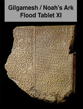 Gilgamesh / Noah's Ark Flood Tablet XI Book Paperback Copy Signed 1st Edition