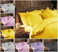 Flannelette Duvet Cover Set Flannel Quilt Bed Sets & Pillow Cases Double King