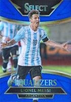 2015 Panini Select Soccer 'Equalizers' - Blue Parallel Serial Numbered to /299