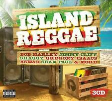 Island Reggae (3CD) - Bob Marley Jimmy Cliff Shaggy Aswad Best Of Gift Idea NEW
