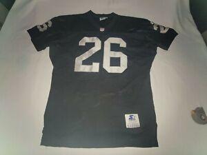 VINTAGE Starter Los Angeles Raiders Jersey #26 Kaufman Men 44 USA Made