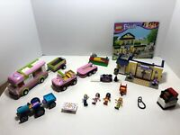 Lego Friends Parts LOT Heartlake High 41005 + Harvest 41026 + Camper 3184 + 3182