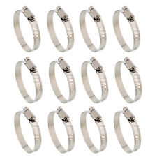 "ABN Hose Clamp 12-Pack 1-1/4"" Inch Zinc Plated 18-32mm Range"