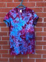 TIE DYE T SHIRT Spiral Hipster Fashion Tye Die Tshirt Festival Top Tee Rainbow