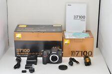 """ 2,200 Disparos"" Nikon D7100 24.1Mp Cámara SLR Digital Negro Body con / Caja"