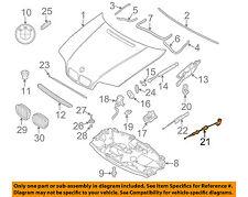 BMW OEM 09-16 Z4 Hood-Latch Lock Release Handle Lever 51238223163