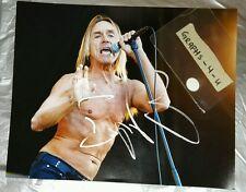Iggy Pop Signed The Stooges Autograph Coa c