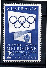 AUSTRALIA 1954 OLYMPIC GAMES PROPAGANDA SG280 BLOCK OF 4 MNH