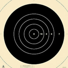 """Mr-63C Official Nra 300 Yard High Power Rifle Target Centers, 20"""" x 20"""""""