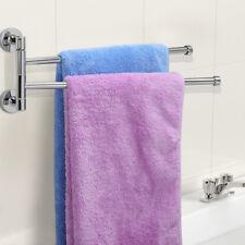 Edelstahl Doppel Handtuchhalter Wand Handtuchstange Handtuch Halter