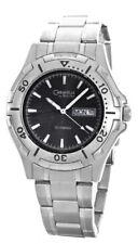 Caravelle By Bulova Men's Dark Grey Dial Stainless Steel Watch 43C09