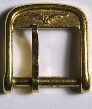 Longines Autentico Donna Oro Placcato 10mm Orologio Fibbia usata. s58