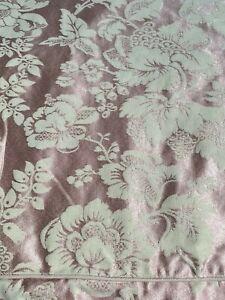 Vintage DORMA Blush Pink Floral French Style Damask King Size Duvet Cover