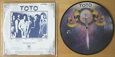 """EX! TOTO HOLD THE LINE b/w TAKIN' IT BACK 7"""" VINYL Picture Pic Disc (12 - 6784)"""