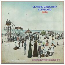 SLATERS DIRECTORY OF CLEVELAND 1876 CD ROM