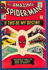 Amazing Spider-Man #31 (1965) 1st appearance Gwen Stacy--Super Bright Copy