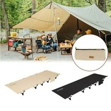 New listing Newest Portable Outdoor Camping Folding Camping Bed Light Aluminium Legs Bed