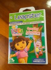 Leap Frog Leapster Nick Jr. Dora The Explorer Camping Adventure Learning Game