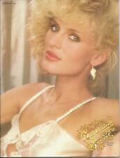 Victoria's Secret Catalogue #11 (Fall/Winter 1981) RARE! Geena Davis Lingerie