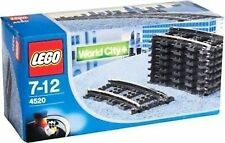 Lego curved train track 9v (4520)