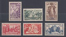 St. Pierre & Miquelon Sc 165-170 MNH. 1937 Paris International Exhibition, VF