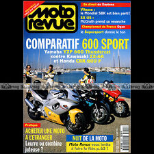 MOTO REVUE N°3224 APRILIA RS 250 CUP HONDA CBR 600 YAMAHA YZF KAWASAKI ZX-6R '96