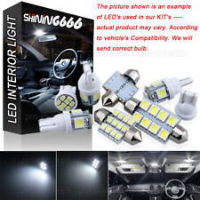 INTERIOR CEILING LED SMD Bulbs KIT Package -WHITE For Vauxhall VECTRA C