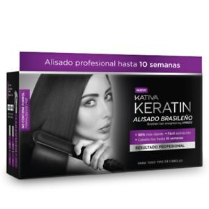 KATIVA STIRATURA BRASILIANA ALLA CHERATINA KIT KATIVA KERATIN SENZA FORMALDEIDE